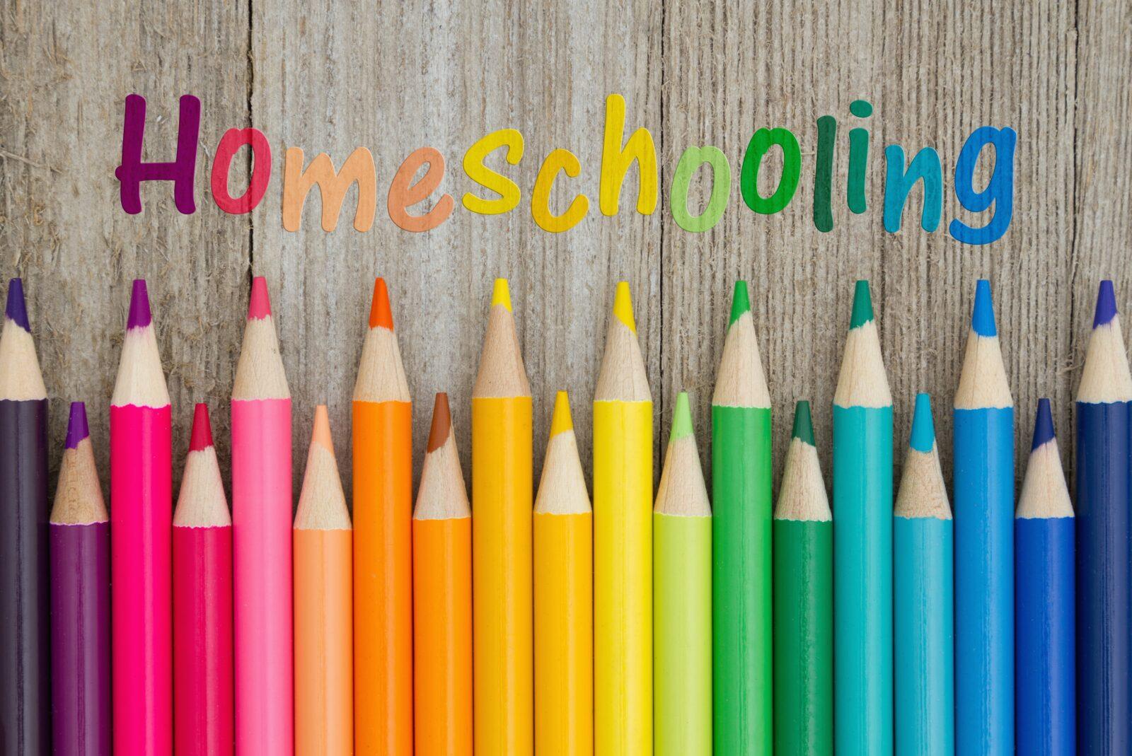 homeschool-colored-pencils-wooden-table